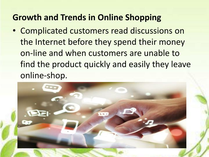 Growth and Trends in Online Shopping