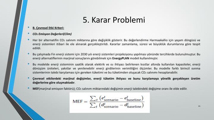 5. Karar Problemi