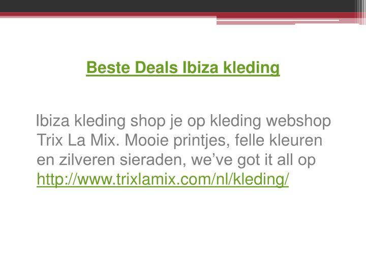 Beste Deals Ibiza kleding