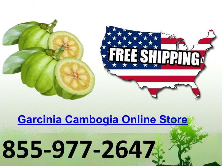 Garcinia Cambogia Online Store