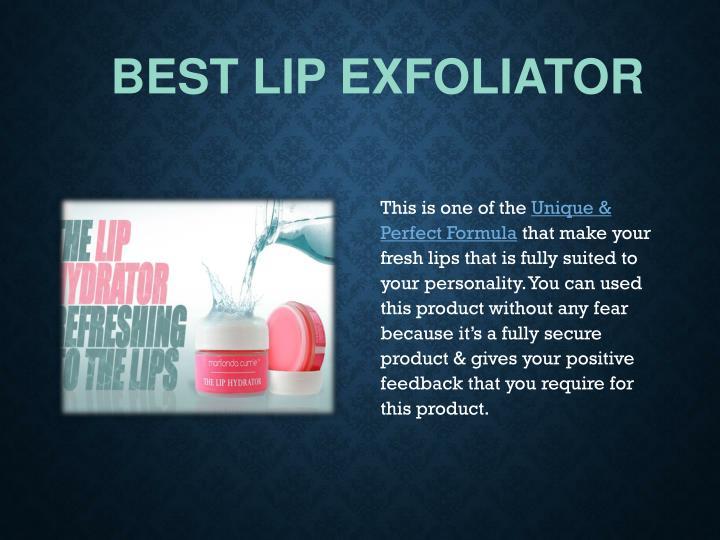 Best Lip Exfoliator