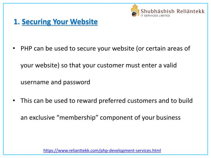 1. Securing Your Website