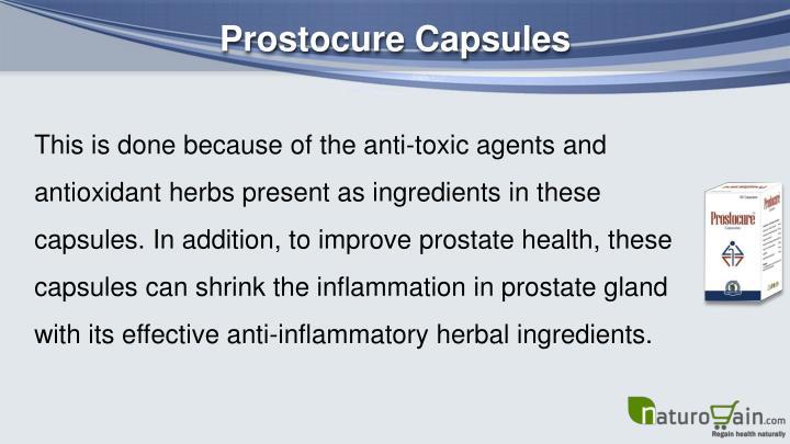 Prostocure Capsules