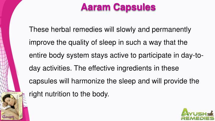 Aaram Capsules