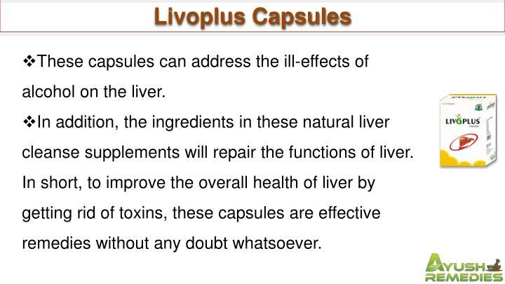 Livoplus Capsules