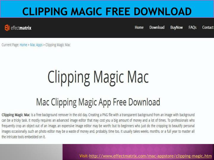 Clipping magic free download