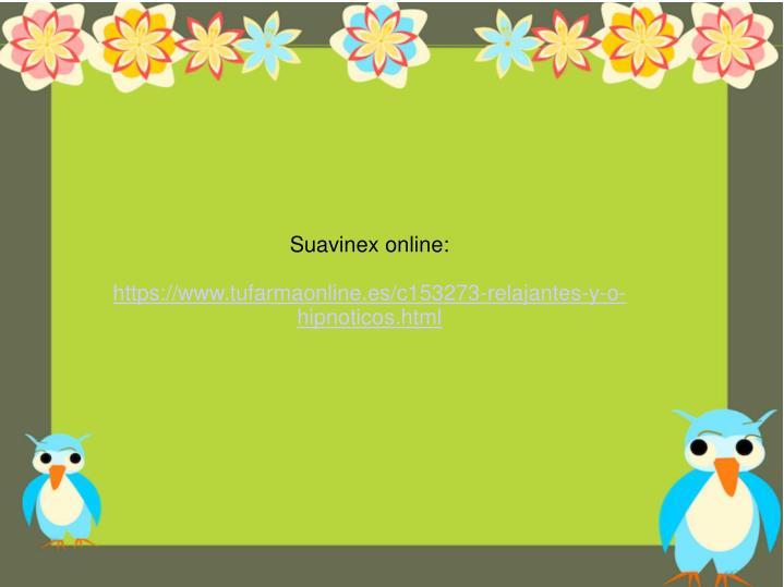 Suavinex online: