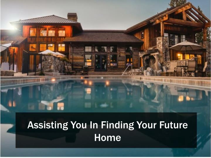 Assisting You In Finding Your Future