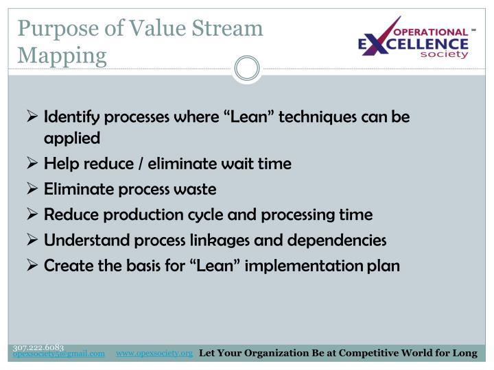 Purpose of Value