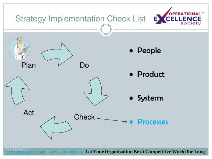 Strategy Implementation Check