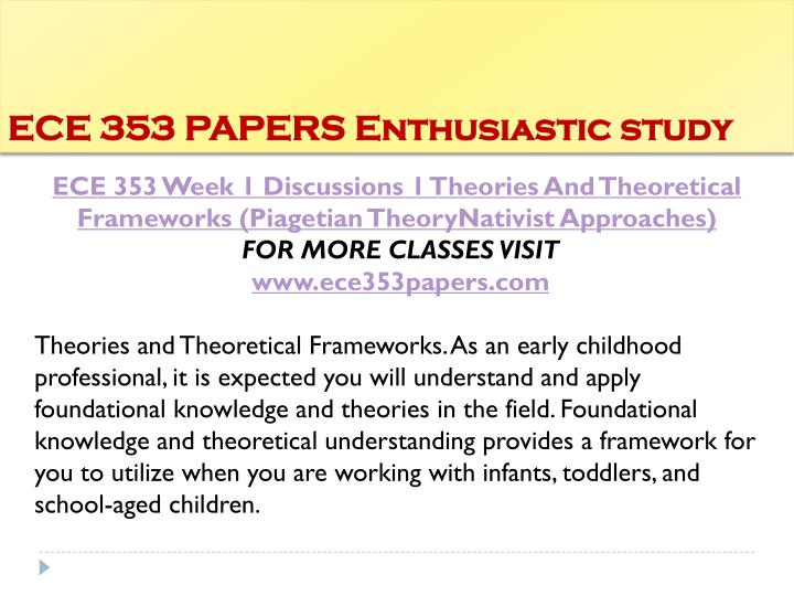Ece 353 papers enthusiastic study1