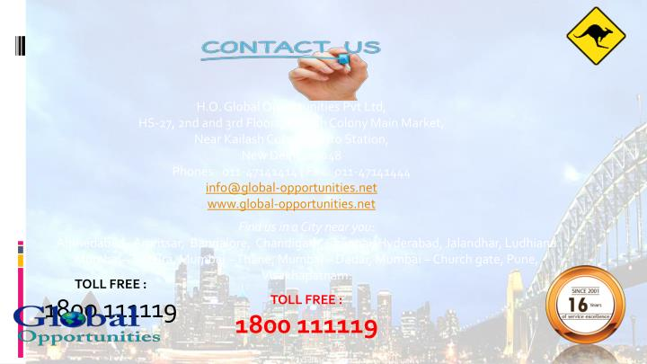 H.O. Global Opportunities Pvt Ltd,