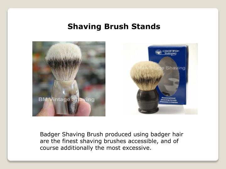 Shaving Brush Stands