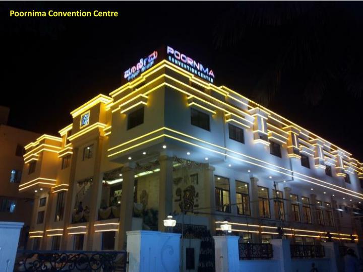 Poornima Convention Centre