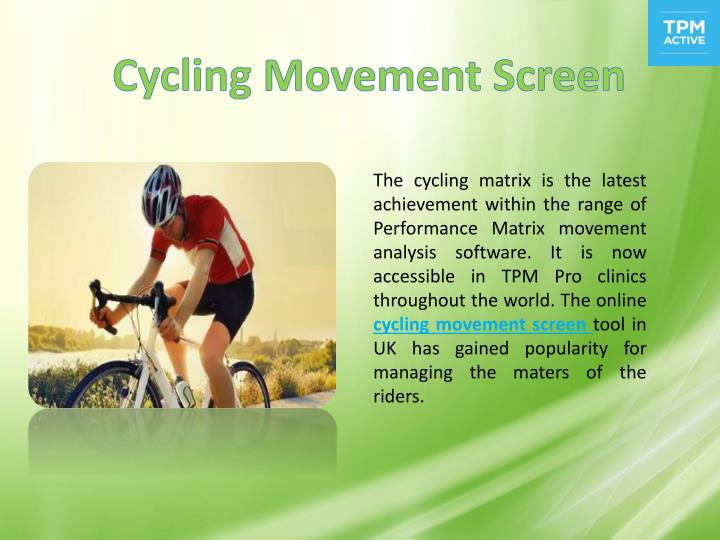 Cycling Movement Screen