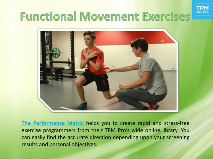 Functional Movement Exercises