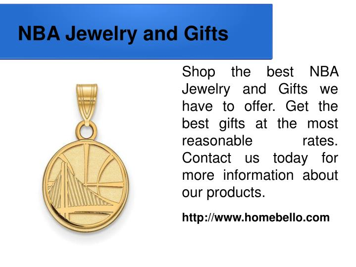 NBA Jewelry and Gifts