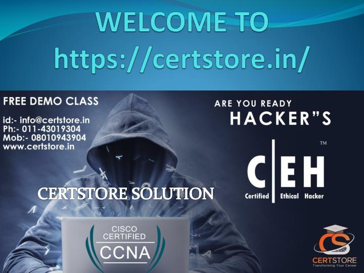 Welcome to https certstore in
