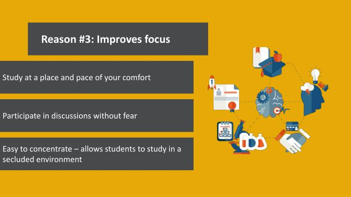 Reason #3: Improves focus