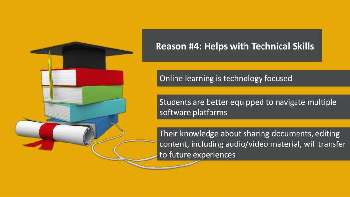 Reason #4: Helps with Technical Skills
