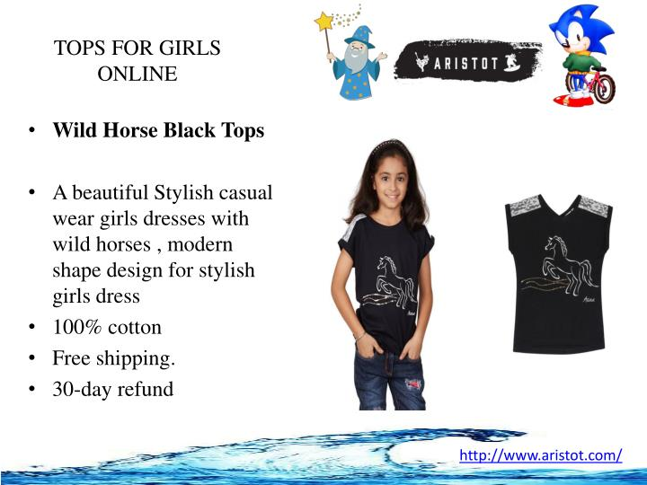 TOPS FOR GIRLS ONLINE