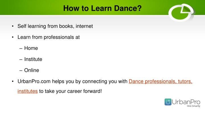 How to Learn Dance?