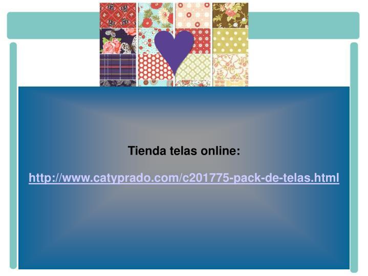 Tienda telas online: