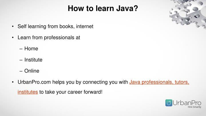 How to learn Java?