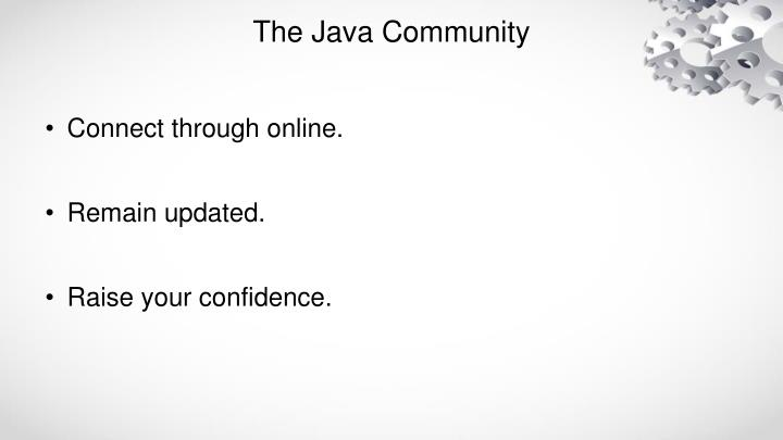 The Java Community