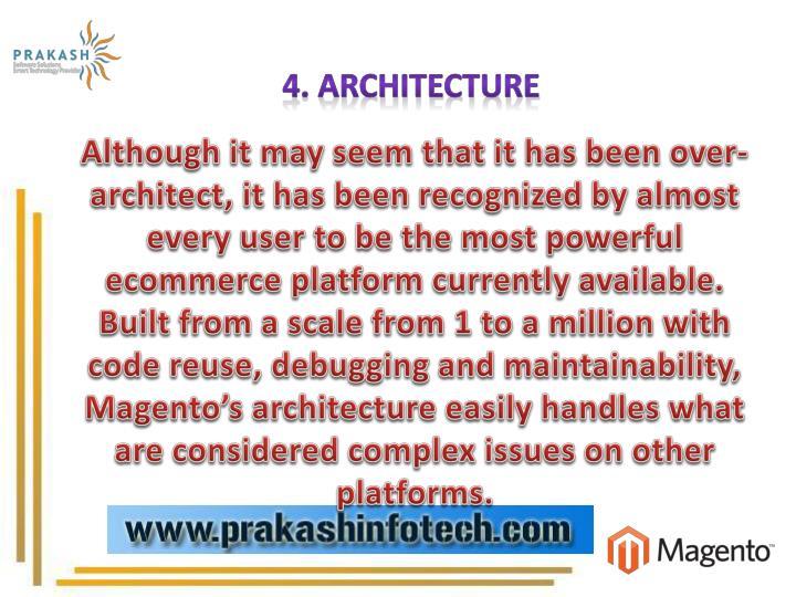4. Architecture