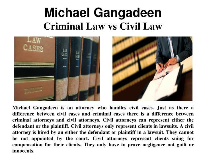 Michael Gangadeen