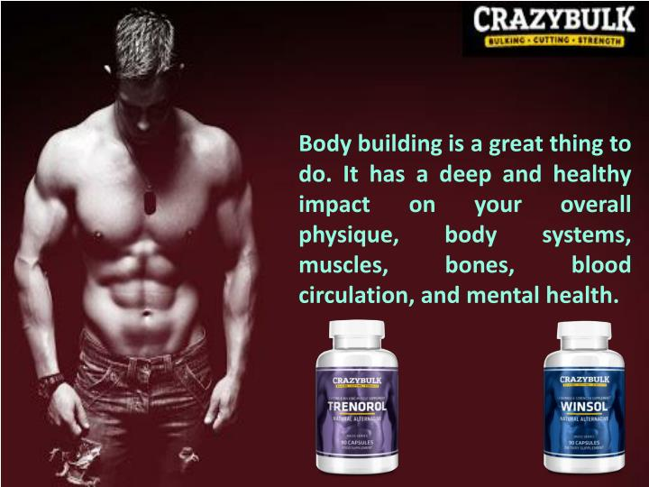 Body building is a great thing to do. It has a deep and healthy impact on your overall physique, bod...