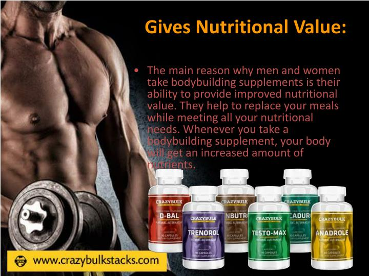 Gives Nutritional Value: