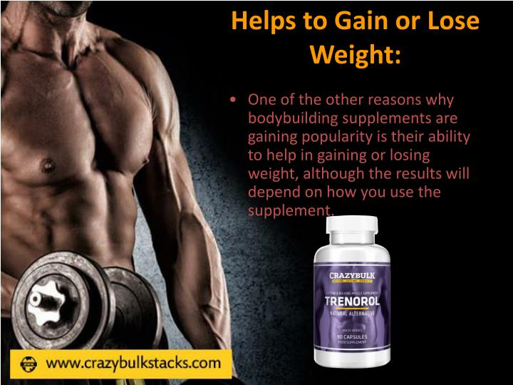 Helps to Gain or Lose Weight: