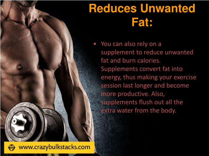 Reduces Unwanted Fat:
