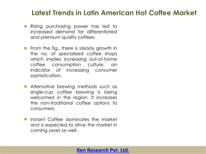 Latest Trends in Latin American Hot Coffee Market