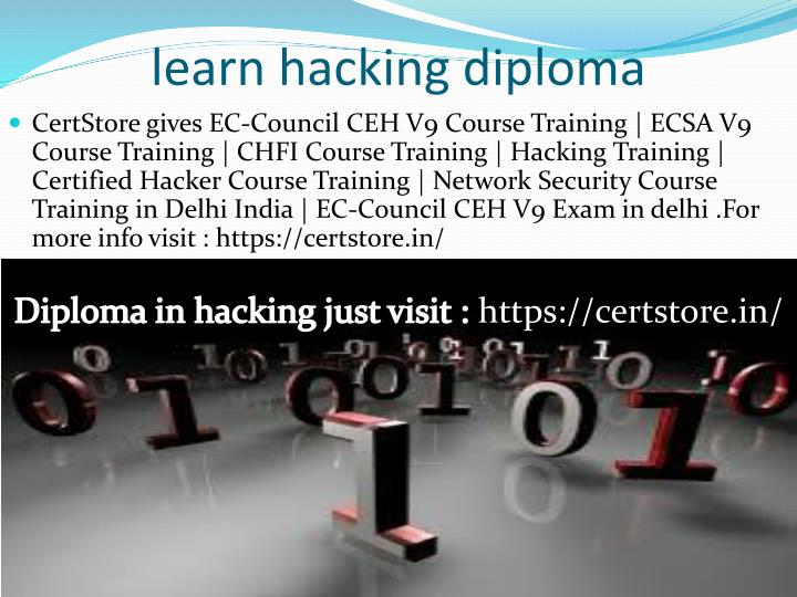 learn hacking diploma