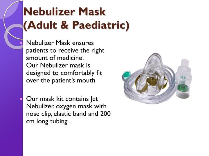 Nebulizer Mask