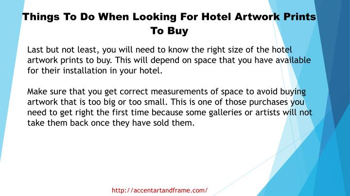 Things To Do When Looking For Hotel Artwork Prints To Buy