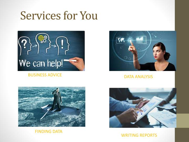 Services for you