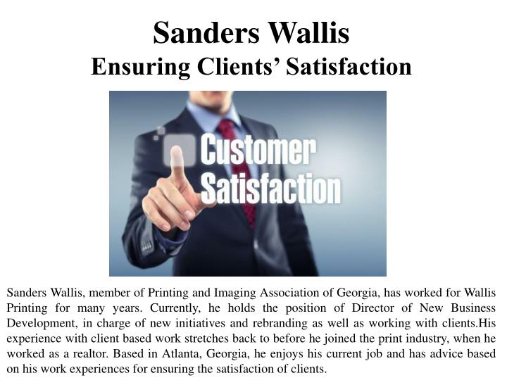 Sanders Wallis