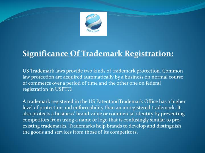 Significance Of Trademark