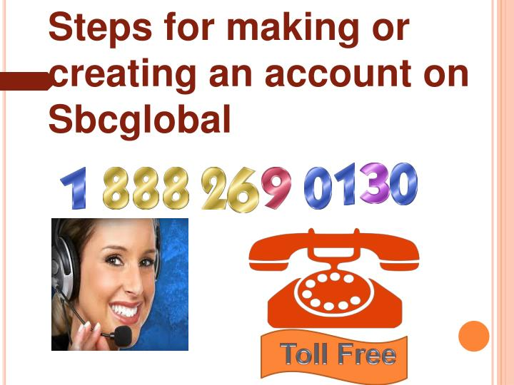 Steps for making or creating an account on