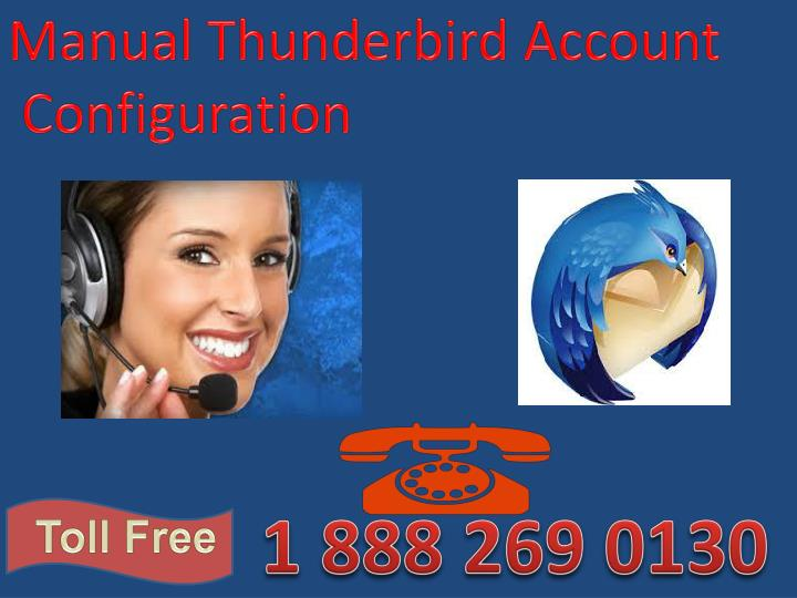 Manual Thunderbird Account