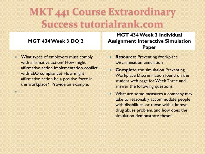 MGT 434 Week 3 DQ 2