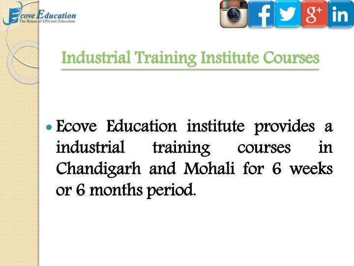 Industrial Training Institute Courses