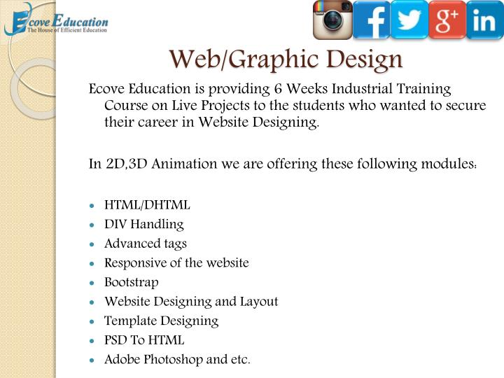 Web/Graphic Design