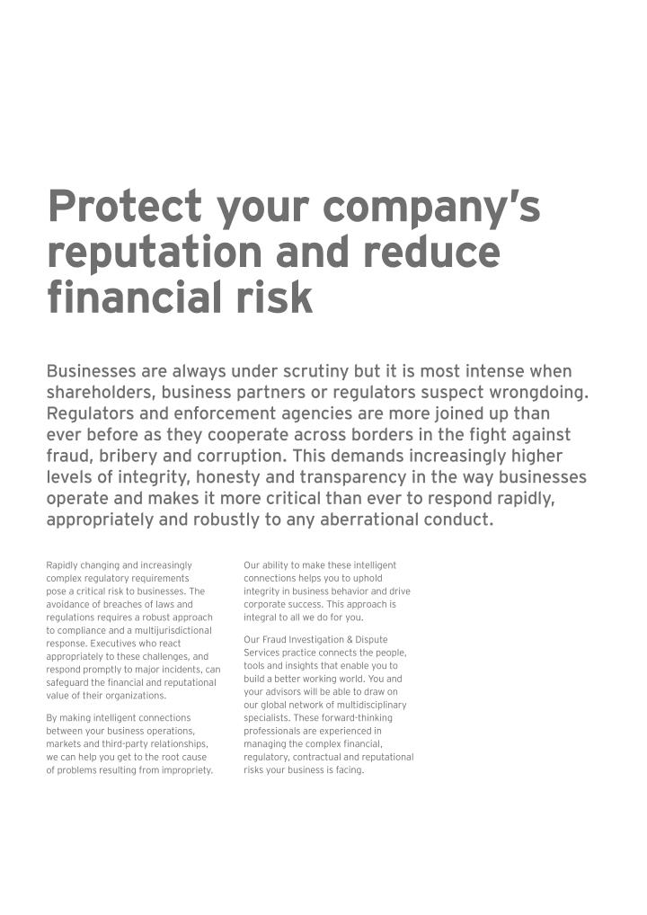 Protect your company's