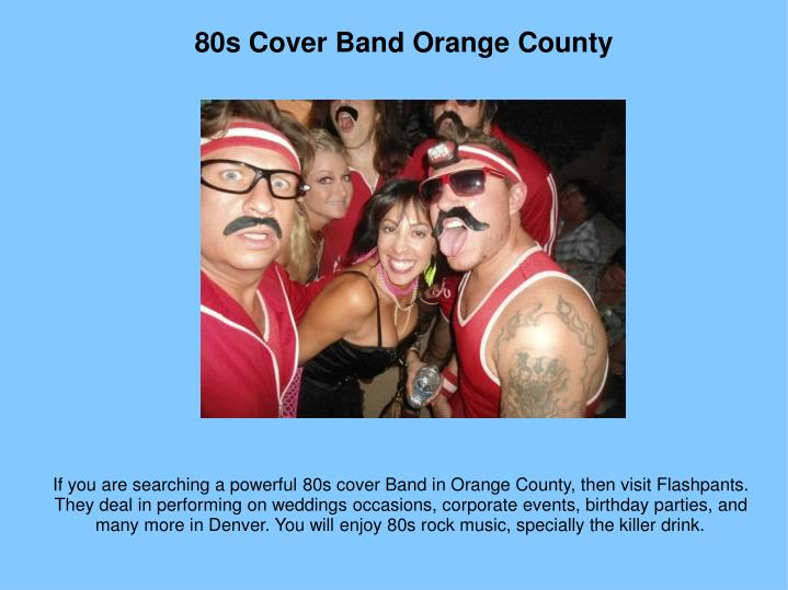 80s Cover Band Orange County