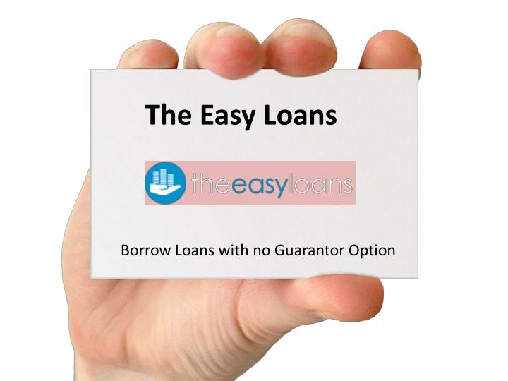 The Easy Loans